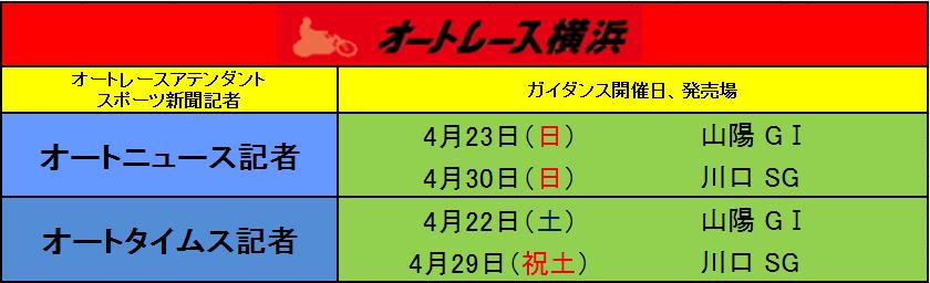 2new4月オートガイダンス